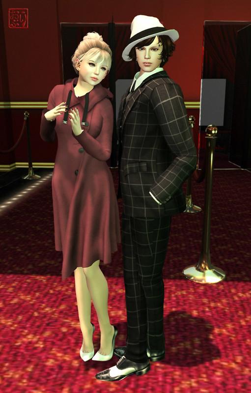 On a Movie Date @ Tokyo Sim