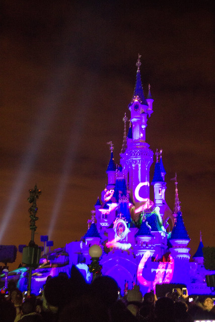 Disneyland paris New Years Eve Countdown