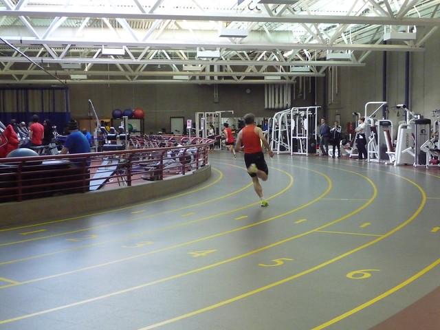 Pete in 300m race