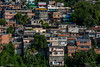Mountainside favlea in Rio de Janiero