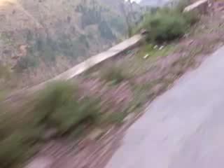 A couple, a bike & lahore to arang kel via panjpeer rocks in dec 2015 - 24472356916 e423fcc783