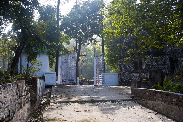 Main Entrance of Beatles Ashram in Rishikesh, India