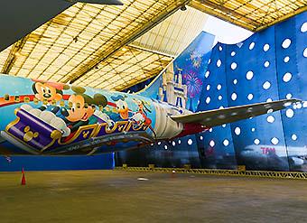 TAM B767-300ER PR-MSZ Avion de los Sueños Disney 1 (LATAM Airlines)