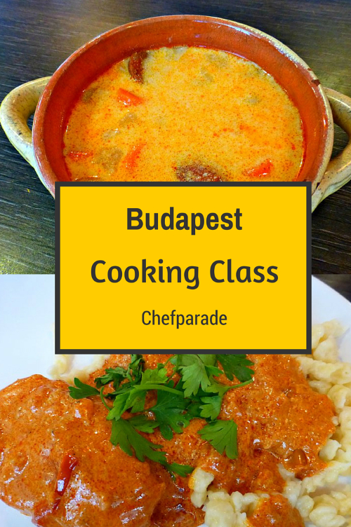 Budapest Hungarian Cooking Class