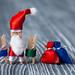Christmas concept. Santa & kids... and gifts...