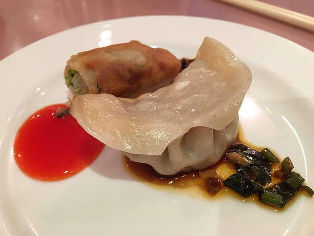 Potsticker and egg roll - Hunan Home's Restaurant