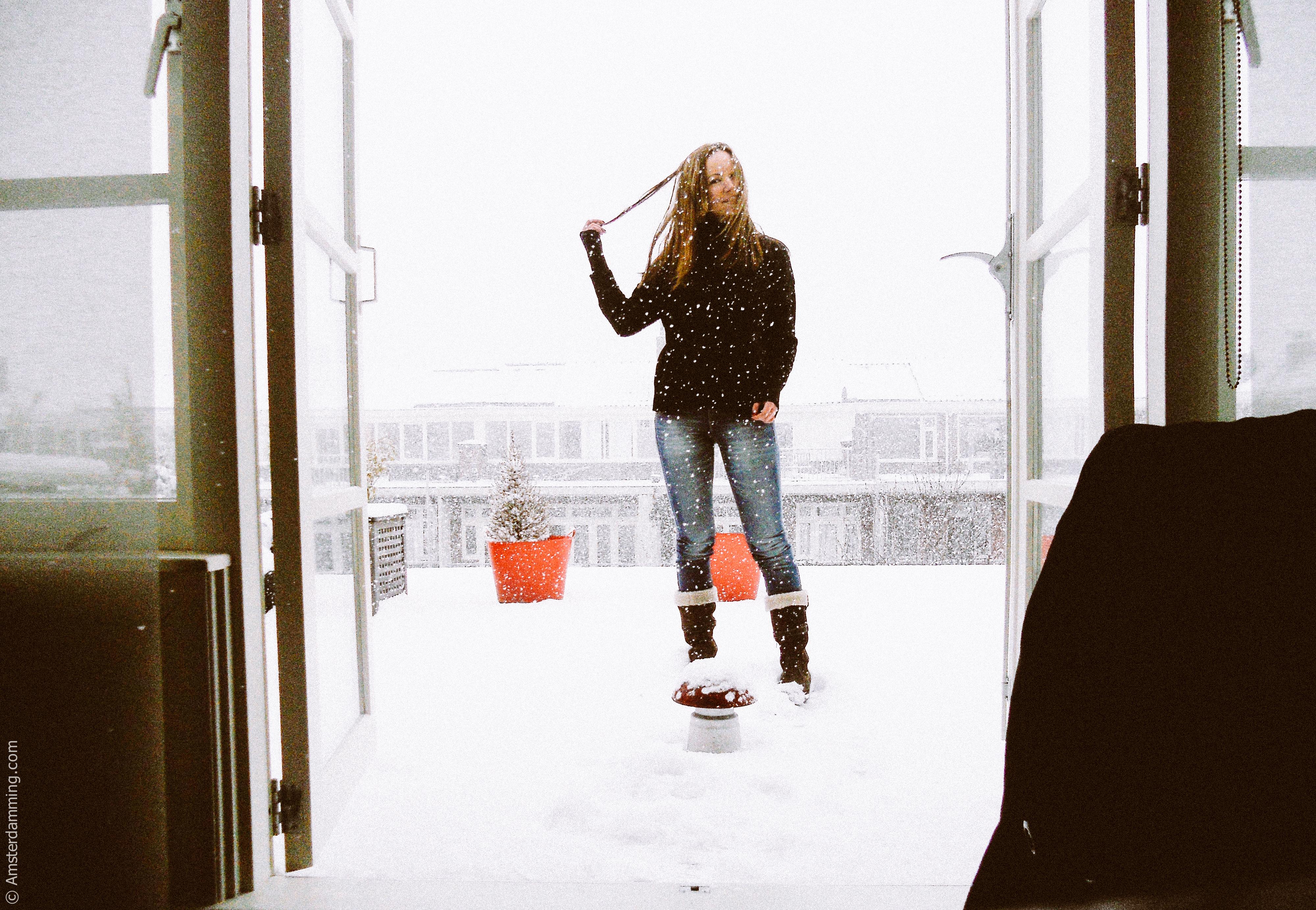 Amsterdam, Snow (02/2012)