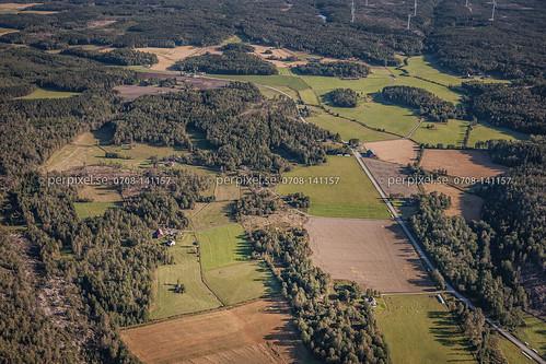 sverige swe västragötaland tanumshede flygfoto