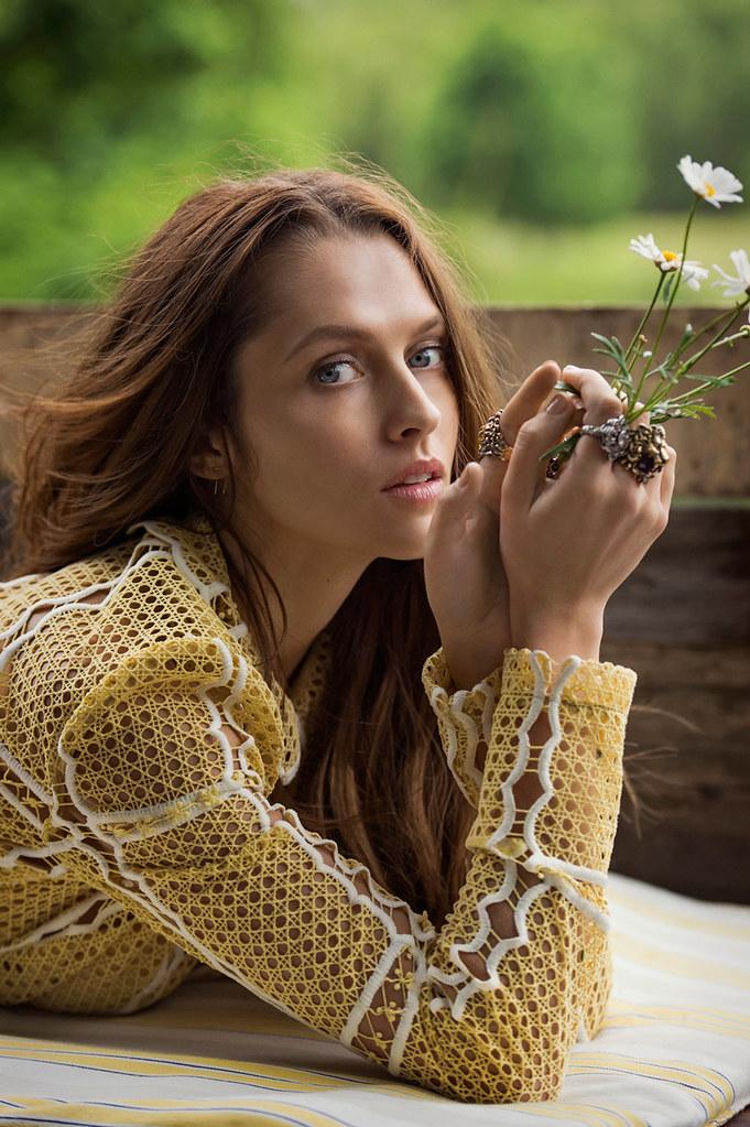 Тереза Палмер — Фотосессия для «Elle» AU 2016 – 7