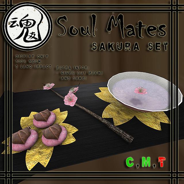 [Soul Mates] Sakura Set Ad