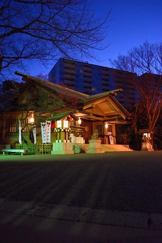 japan sunrise dawn tokyo shrine harajuku jinja takeshita takeshitadori togojinja