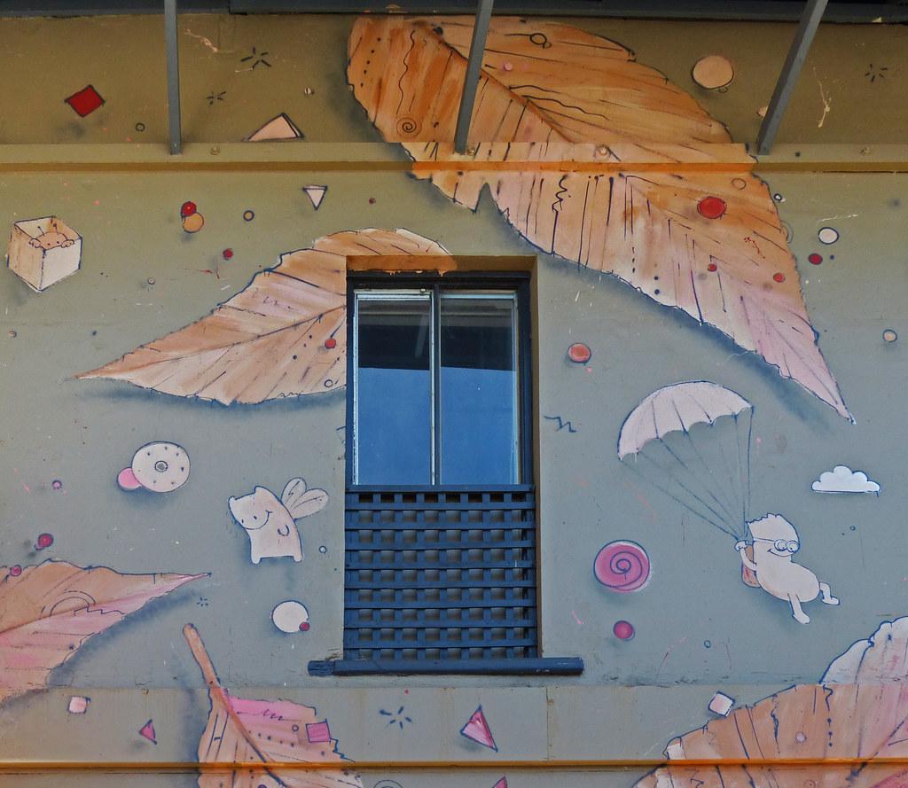 Australia - Bunbury - Ian Mutch - Graffiti - Street Art
