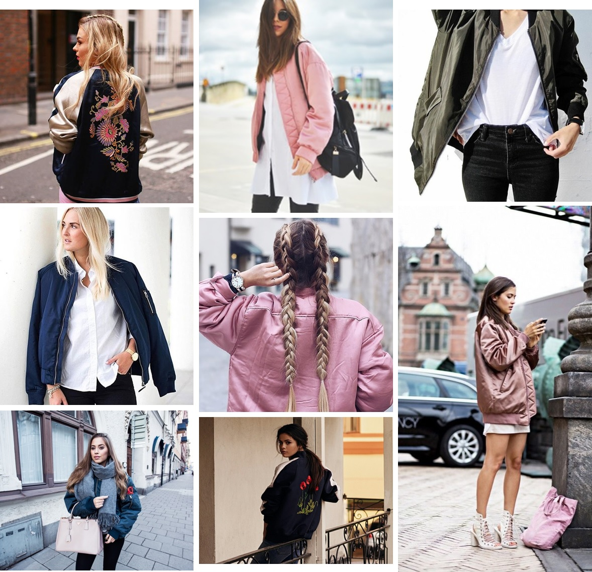 inspiration | The bomber jacket