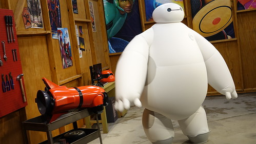 Epcot Character Spot in Epcot with Baymax (3)