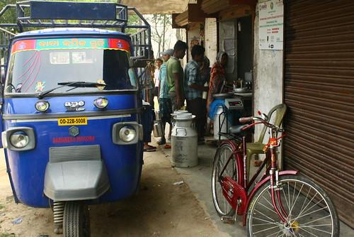 A milk collection centre in Odisha