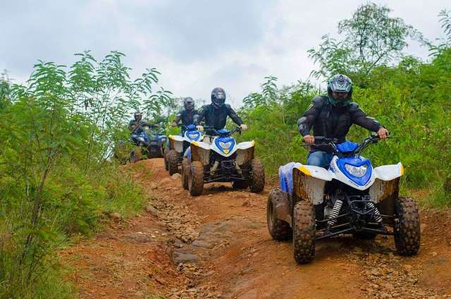 Quad Biking 7 Km Fun Trail Bangalore