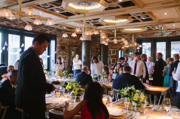 Celine Kim Photography KM Intimate restaurant Cluny Bistro Distillery District Toronto summer wedding-38