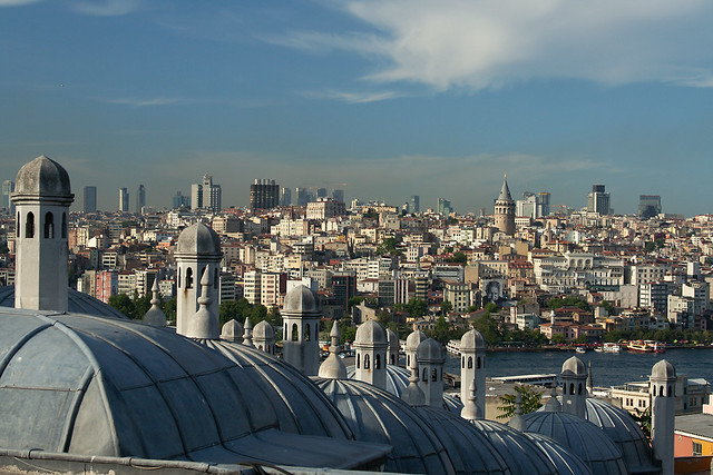 Istanbul rooftops
