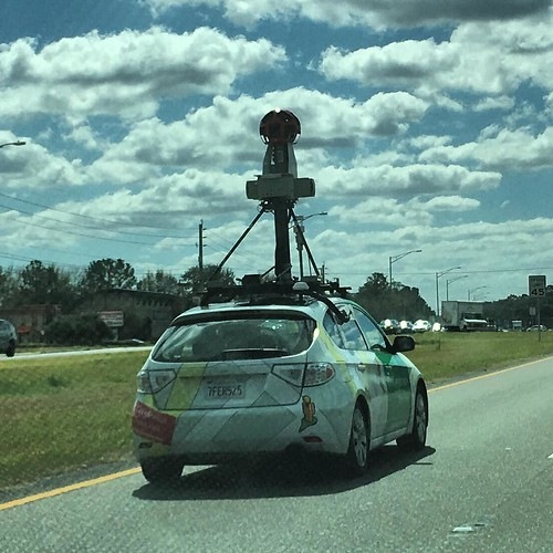 Following Google Maps street car in Jacksonville, Florida. #streetview #googlemaps #ism4011