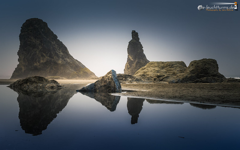 Seastack reflections