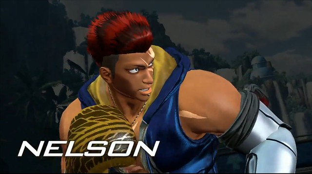 King of Fighters XIV - Nelson