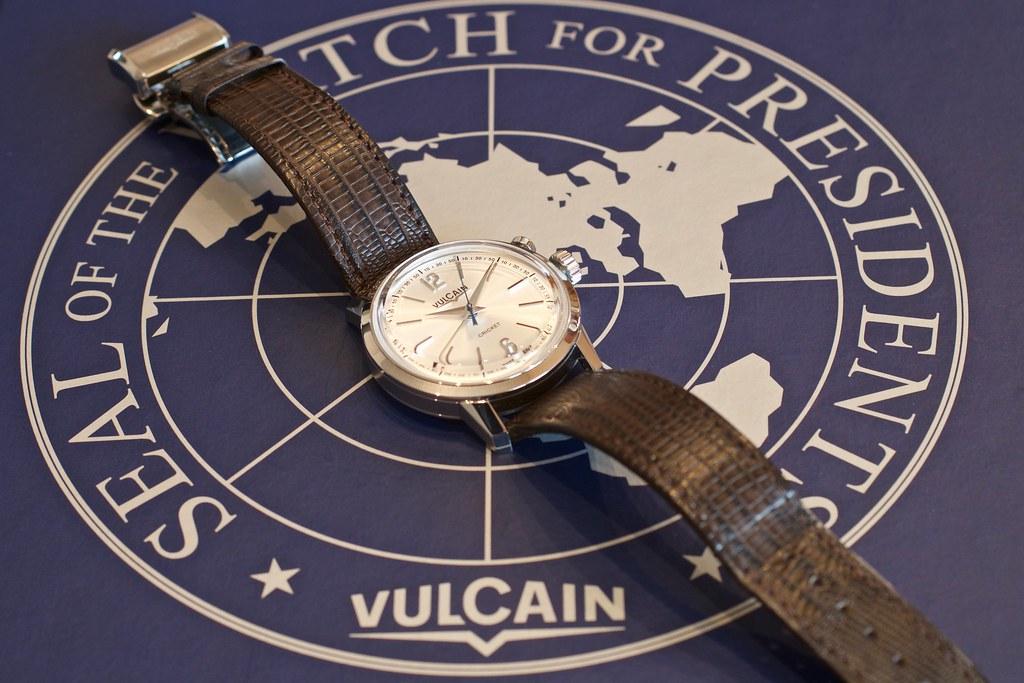 vulcain - [Revue] Vulcain 50s President' watch cricket 39mm ref : 100153.295L 25493607121_3fbf85c03f_b