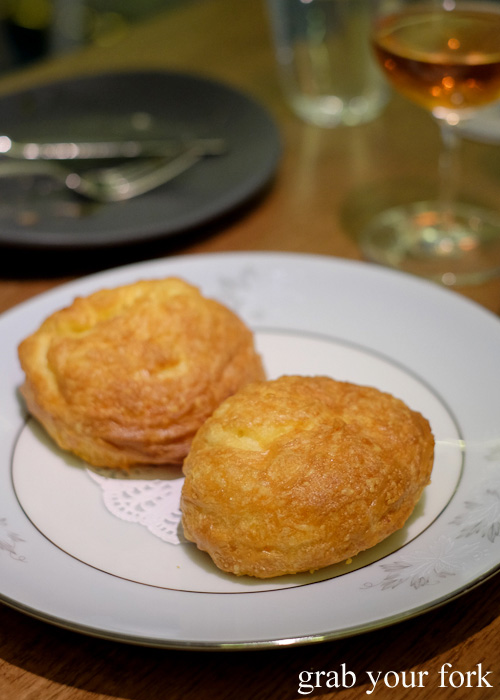 Comte gougere at Bar Brose, Darlinghurst