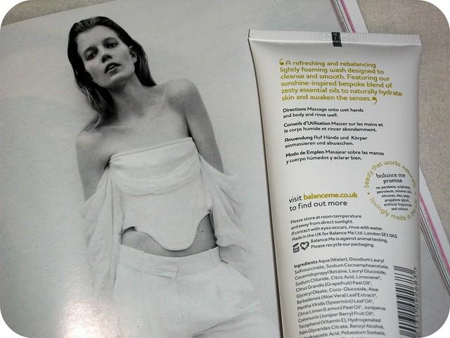 Balance Me Revitalising Body Wash Review