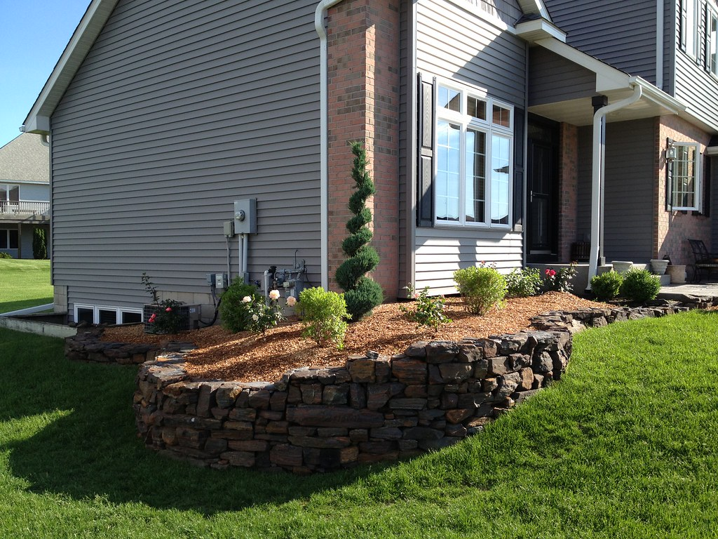 retaining walls projects hedberg landscape and masonry