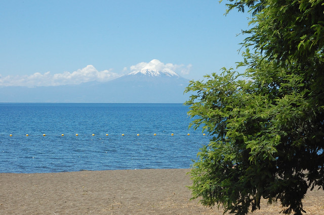 Views of Lago Llanquihue from Frutillar, Chile