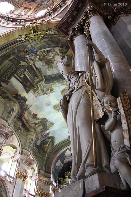 Interior of St. Nicholas Church