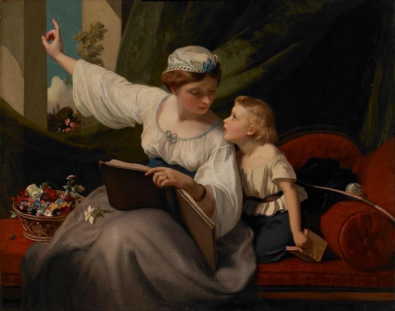 James Sant - The Fairy Tale (c.1860)