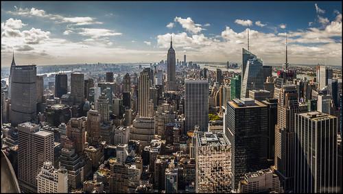 Panorámica de Manhattan