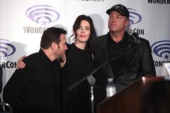 Hank Steinberg, Bridget Regan & Adam Baldwin