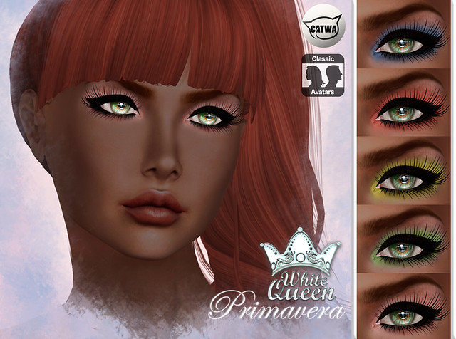 ::White Queen:: primavera eyeshadow - catwa