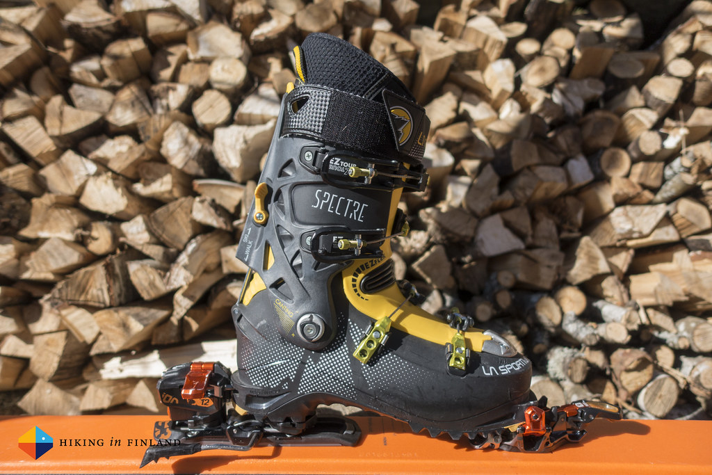 La Sportiva Spectre, ready for skiing