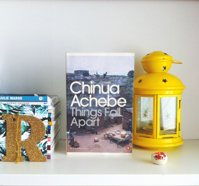chinua achebe things fall apart book blog