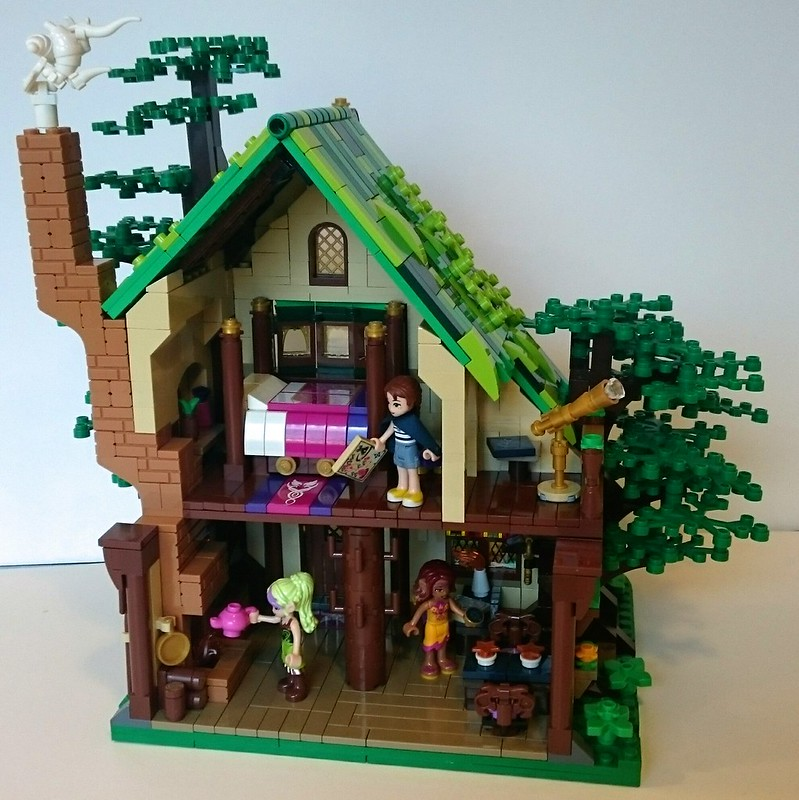 Moc The Sleeping Dragon Inn Lego Action And Adventure