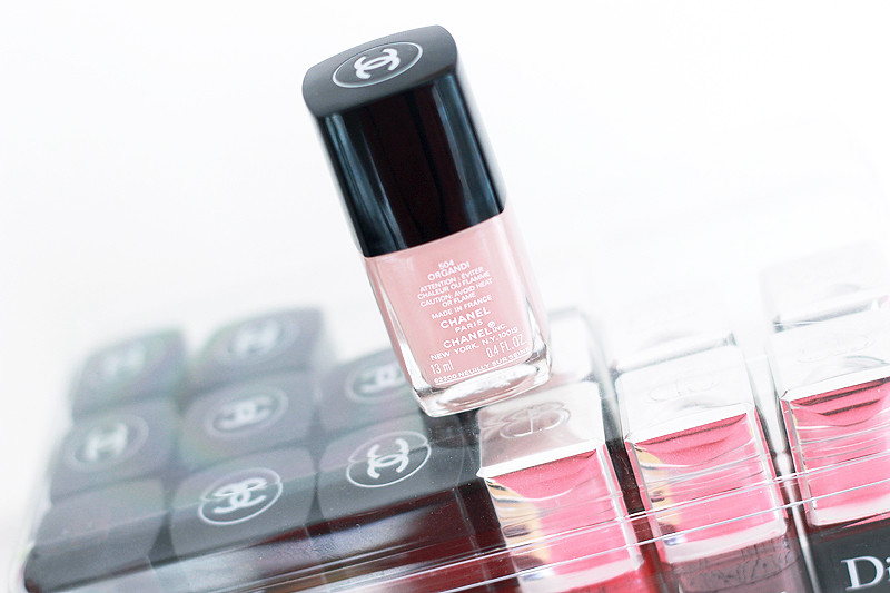 New Chanel Nail Polish Organdi Review