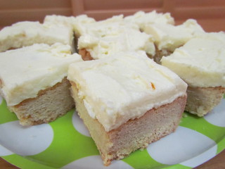 Orange Vanilla Dream Bars