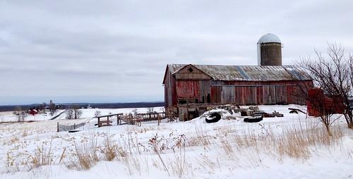 20140205 St. Cloud, Wisconsin wimter barn scene - 3