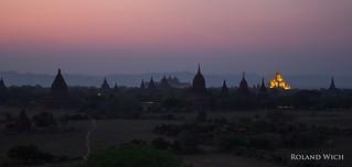 Dusk over Bagan