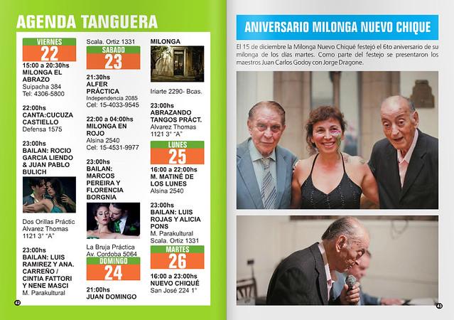 Revista Punto Tango Enero 2016 - Agenda de Tango