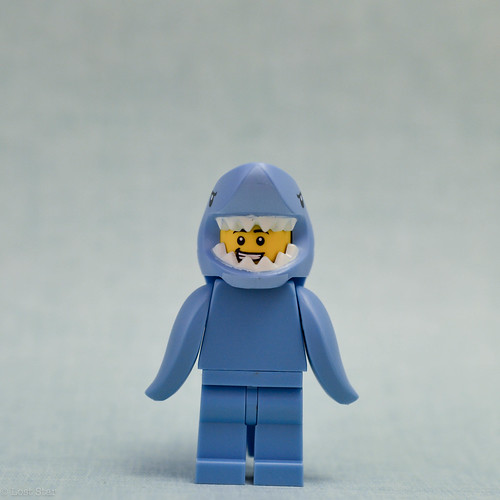 Shark suit guy (front)