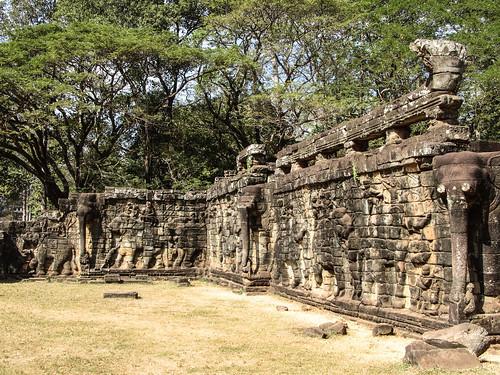 Angkor: la terrasse des éléphants