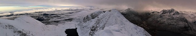An Teallach Pano South