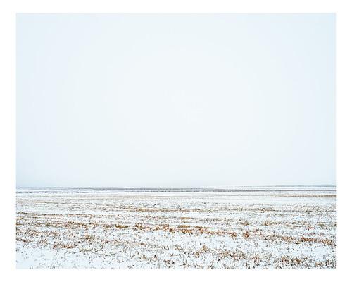 winter canada rural landscape fields minimalism