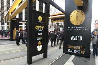 Super Bowl City - Road to 50 app