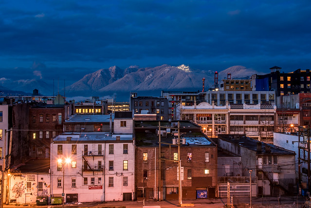 Chinatown and the Mountains