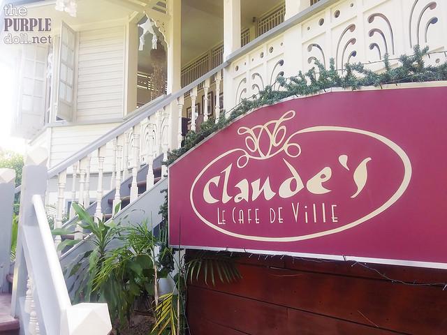 Claude's Le Cafe de Ville Davao
